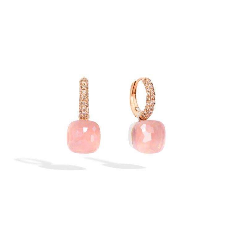 NOBLE PLACE KOLCZYKI POMELLATO 20640PLN 750x750 Nudo Pink marki Pomellato 8211 w najnowszej kolekcji kr luje delikatno