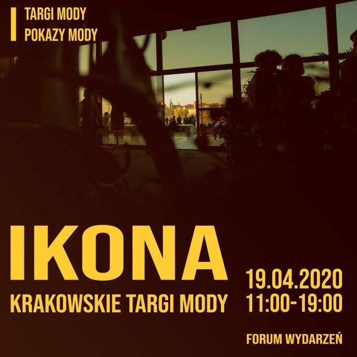 Krakowskie Targi Mody IKONA już w kwietniu – Zapraszamy!