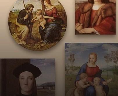 Rafael santi Niezwyk a wirtualna wystawa dzie Rafaela Santi