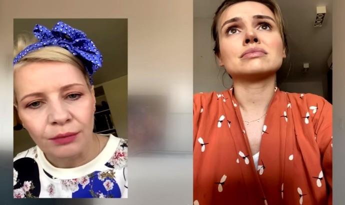Trzebiatowska kozuchowska muda Trzebiatowska i Ko uchowska w domowym serialu 8222 Zosta w domu 8221