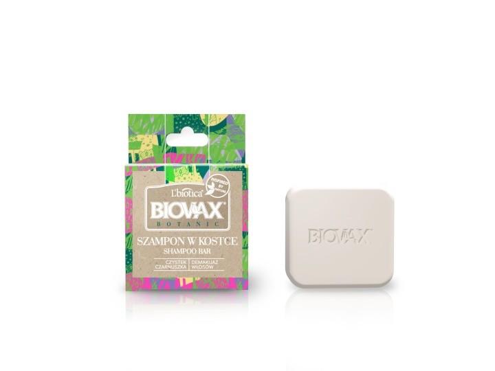 Biovax Botanic szampon w kostce czystek czarnuszka Profilaktyka w czasach koronawirusa
