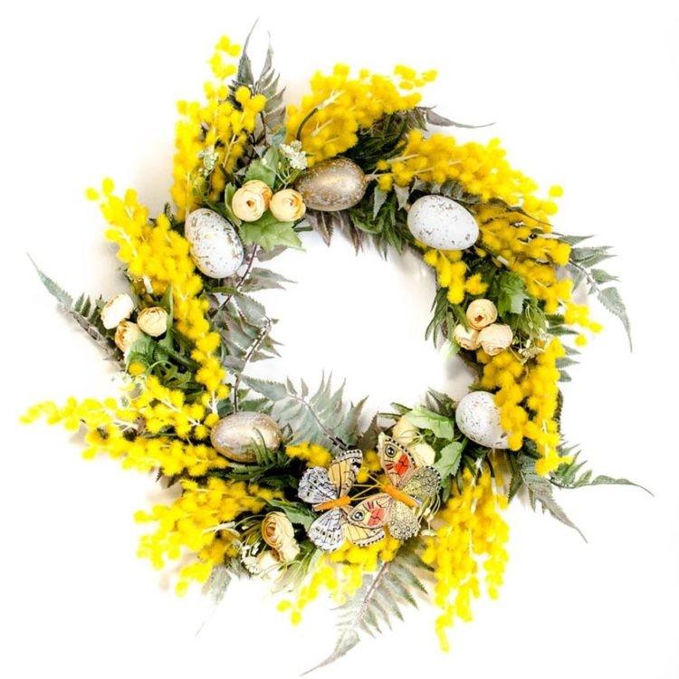 PakameraPL Ewianek Pracownia Florystyczna wianek 151pln 750x750 Pomys y na dekoracje wielkanocne