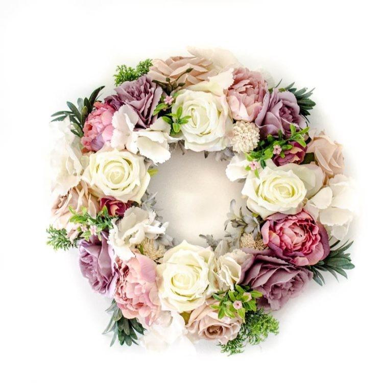 PakameraPL Ewianek Pracownia Florystyczna wianek 186pln 750x750 Pomys y na dekoracje wielkanocne