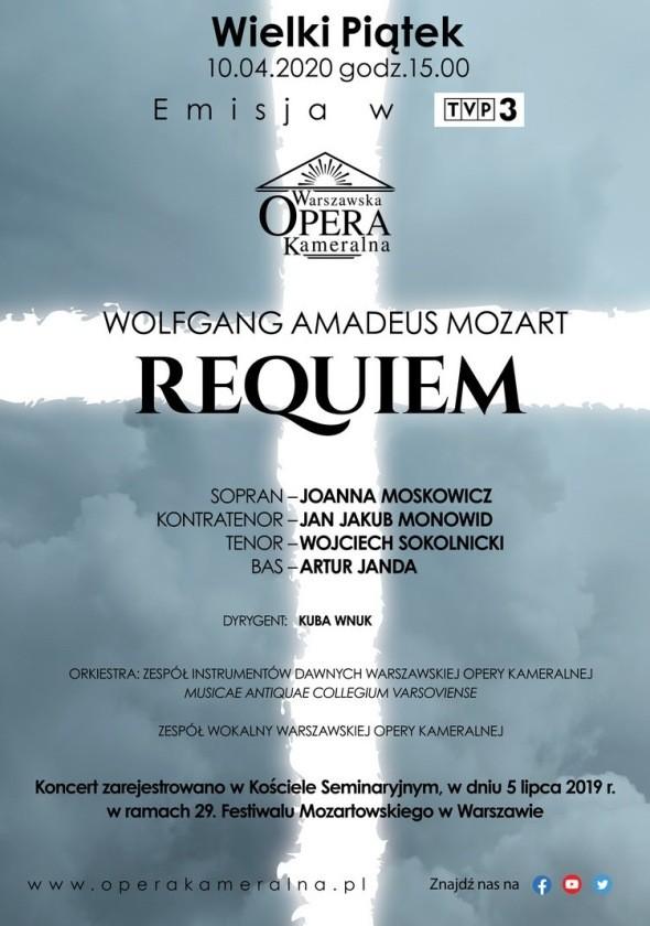 Requiem Warszawska Opera Kameralna na wi ta 8211 online i w telewizji
