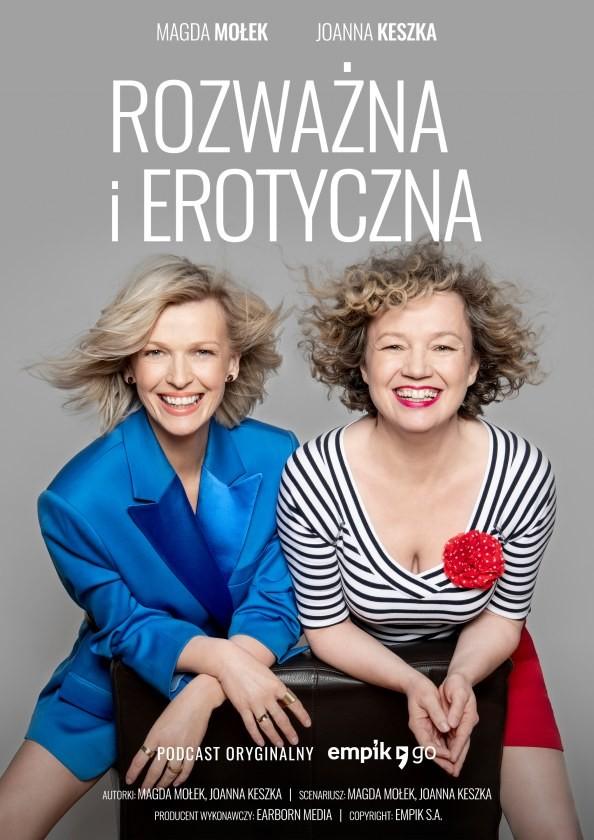 Rozwazna Erotyczna plakat Magda Mo ek i Joanna Keszka z podcastem o kobiecej zmys owo ci wolno ci i przyjemno ciach