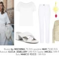 White total look: stylizacje całe w bieli